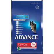 Advance Canine Active All Breed, Chicken 15kg Plus Free Greenies 340gm
