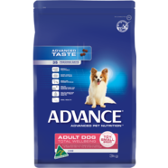 Advance Canine Total Wellbeing Toy/Small Breed Lamb & Rice 15kg Plus Free Greenies 340gm