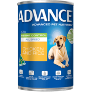 Advance Canine Weight Control All Breed Chicken Rice 405g