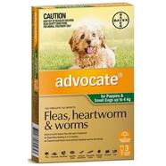 Advocate Dog Green (< 4kg) 3pk