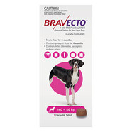 Bravecto for Extra Large Dogs 40 - 56 kg Single Chew