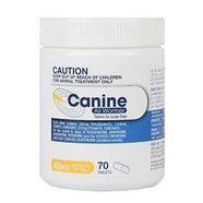 Canine Allwormer 40kg pack of 70 tablets valueplus