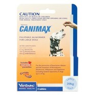 Canimax Large Dog - 20kg pack of 4 tablets