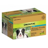Drontal 10kg Chew Bulk Pack of 80