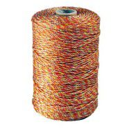 Bolt Poly Wire 2mm/6 Strand 250M Yellow/Orange/90kg