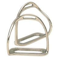 Equi Steel Stainless Steel Bent Leg Safety Stirrups