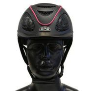 GPA Speed Air Helmet  Black and Pink