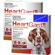 Heartgard Plus Brown 12 pack  - Dogs 23-45kg, Heartworm montlhy Chews