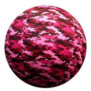 "Jolly Pets Horsemans Pride Pink Camo  COVER for Medium 30"" Ball"