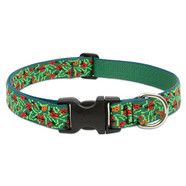 Lupine 12-20  Large Dog Collar Beetlemania 1 inch thick, Adjustable 12-20 inches