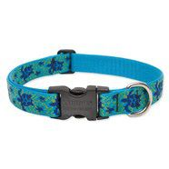 Lupine 12-20  Large Dog Collar Turtle Reef 1 inch thick, Adjustable 12-20 inches
