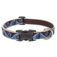 Lupine 15 -25 Medium Dog Collar Muddy Paws 3/4 inch thick, Adjustable 15-25 inches