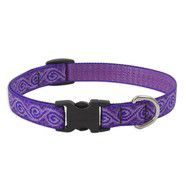 Lupine 9-14 Medium Dog Collar Jelly Roll 3/4 inch thick, Adjustable 9-14 inches
