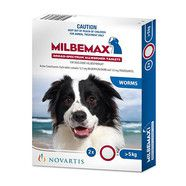 Milbemax Dog over 5kg - 2 pack *OUT OF STOCK*