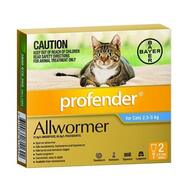 Profender Medium 2.5-5kg Cat 2pk