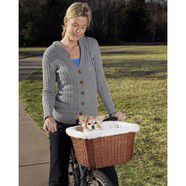 TagAlong Pet Bicycle Wicker Basker 41x30x25