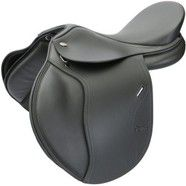 "Tekna S6  All Purpose Saddle 17"" Black"
