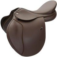 "Tekna S6  All Purpose Saddle 17"" Brown"