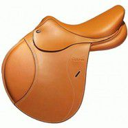 "Tekna S4 Jumping Saddle 16.5"" Tobacco"