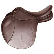 "Tekna S4 Jumping Saddle 16.5"" Brown"