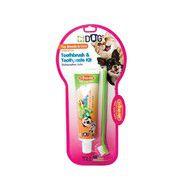 Triple Pet Dental Kit for Toy Dog Breeds & Cats