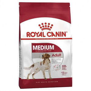 Royal Canin 25 Medium Adult Dog  4kg Red bag