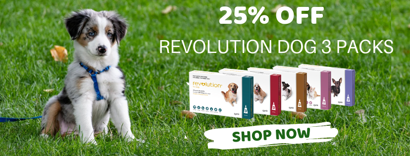 Revolution Dog 3 packs 25% OFF