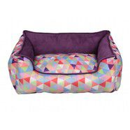 Scream Geometric Rainbow Lounger 60x50x20cm