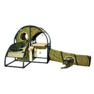 Zeez Feline Fun House with Tunnel