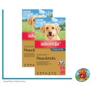 Advantix Blue Dogs over 25kg 12 pack - (2 x 6 pks)