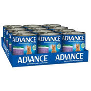Advance Dog food cans chicken and turkey 700gm x 12