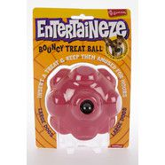 Entertaineze Bouncy Treat Ball for Large Dogs