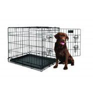"YD Dog Crate Double Door Dog Crate 42"" XLarge"