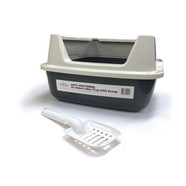 T&T Litter Tray with High Rim and Litter scoop