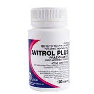 Avitrol Plus Bird Wormer Tablets 100 pack