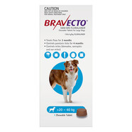 Bravecto for Large Dogs 20 - 40kg Single Chew