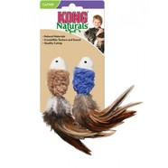 KONG Cat Crinkle Fish With Feathers