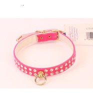 "Majestic 14"" Velvet Pink Collar *CLEARANCE*"