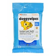 Doggy Wipes 15 pack