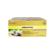 Drontal Cat Ellipsoid 4kg pack of 48 tablets