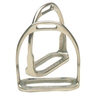 Equi Steel Stainless Steel Two Bar Hunting Stirrups