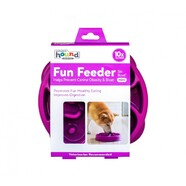 Outward Hound Fun Feeder Purple Mini