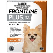 Frontline Plus Small Dog 6pk - Up to 10kg