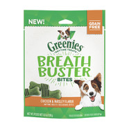 Greenies Breath Buster Chicken and Parsley Bites 156gm