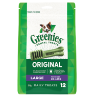 Greenies Large Mega Pack 510gm 12 treats per pack