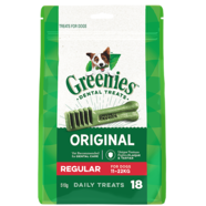 Greenies Regular Mega Pack 510gm 18 treats per pack