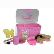 Pony Club Grooming Kit PINK