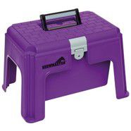 Show Master Step Up Tack Box PURPLE