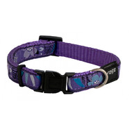 Rogz Scooter 10-16″ Purple Forest Dog Collar