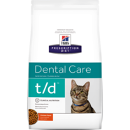 Hills Prescription Feline T/D 3kg